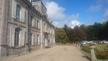Evènement dans le parc du Château